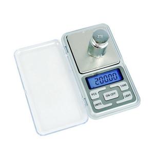 مصغرة مقياس الجيب الرقمية الالكترونية 500 جرام / 0.1 جرام مجوهرات وزنها التوازن وظيفة العد الأزرق lcd g / tl / أوقية / ct dhl فيديكس مجانية
