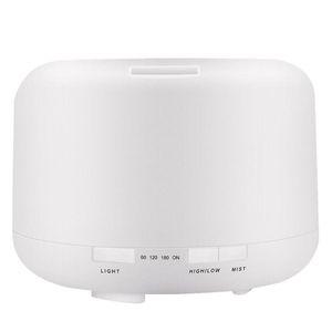 500 ML Humidificador de aire Ultrasónico Humidificador Temporizador Difusor de aceite esencial Aromatherpy Aroma Difusor de aire para oficina en el hogar