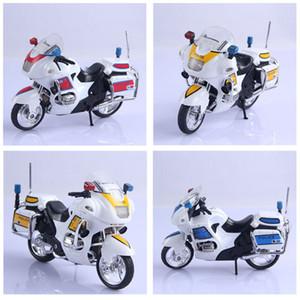 1 conjunto assembléia liga polícia da motocicleta modelo toy diy blocos de construção de brinquedos kit crianças educacional presentes de natal aniversário
