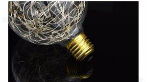 RGB LED Night Light Лампа накаливания ретро Эдисон Fairy LED свет Струнный лампы E27 110V 220V для Indoor рождественских праздников