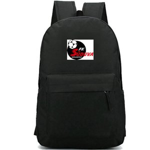 Suduva sırt çantası FK Marijampole daypack Marijampoles futbol kulübü schoolbag Futbol rozeti sırt çantası Spor okul çantası Açık gün paketi