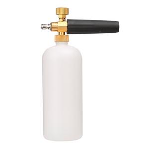 LONGFENG LFCP14 Cañón de espuma ajustable Botella de 1 litro, Lanza de espuma de nieve con 1/4 Quick Connector Foam Blaster para pistola de lavado a presión