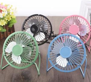 Été frais feuille d'aluminium silencieux Mini table bureau ventilateur personnel et ventilateur de refroidissement portable en métal pour la maison de bureau haute compatibilité