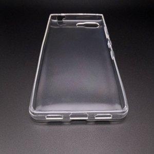 50pcs cas de couverture arrière en TPU pour BlackBerry Key2 TPU ultra clair transparent cas de téléphone doux