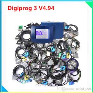 Yeni sürüm Digiprog3 Ana ünite ile marka kalite Digiprog 3 tüm arabalar için en düşük fiyat digiprog3 kilometre sayacı düzeltme tüm kablolar tam kiti