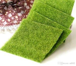 Micro Paisaje Hadas Creativas Miniaturas de Jardín Fake Green Moss Lichen Ecology Hierba Artificial Lawn Bryophyte Para DIY 1 5cj ii