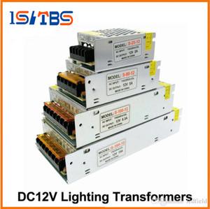 Transformadores de iluminação DC12V Alta Qualidade Luzes LED Driver para LED Strip Power Supply 60W 100W 200W 300W.