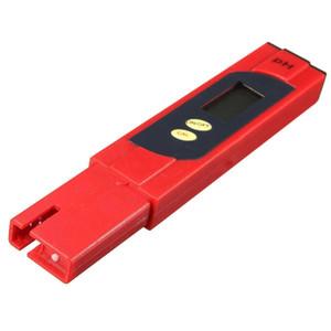 AYHF-New LCD Pocket Digital Ph Meter Tester Hydroponics Pen Aquarium Pool Water Test Red