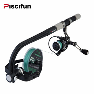 Portable Fishing Line Spooler Spinning Baitcasing Reel Line Spooler Winder Machine Station System
