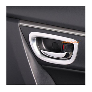 Top sale For Toyota Corolla Altis 2014 2015 2016 car Styling Cover Sticker Trims ABS Chrome Car Door Inner Built Bowl handle 4pcs