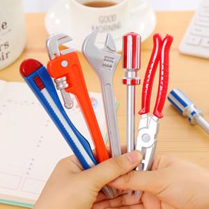 1 X strumenti di simulazione hardware Vise Hand Knife Knife Hammer Penne a sfera creative Penne di qualità Caneta Office School Supplies