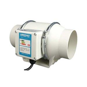 """4 """"Ventilatore del condotto del flusso obliquo, fan dello scarico, ventilatore, fan di fumo, nuovo ventilatore, ventilatore della camera da letto della cucina, 35w / 220v"""