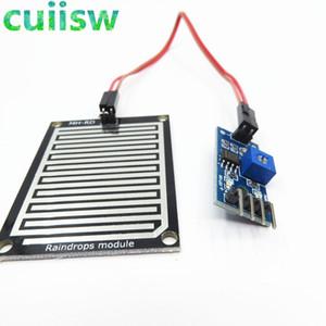 5PCS 3.3-5V pluie Raindrops Capteur de détection d'humidité Météo Module Pour Arduino LIVRAISON GRATUITE