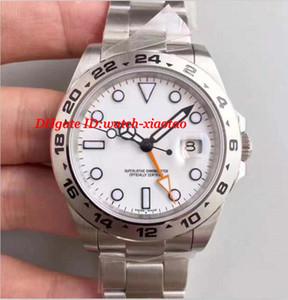 Luxo Melhor V7 Versão White / Black Dial Relógio Automático 42mm Eta 2836 Data de Movimento Dos Homens 216570 Dive Esporte relógios de Pulso
