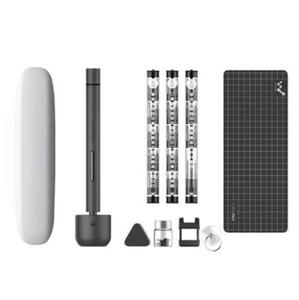 Wowstick 1F Pro Mini Elektroschrauber Wiederaufladbare Akku-Schraubenzieher Kit Set mit Aufbewahrungskoffer für Reparatur-Tools