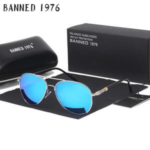 PROIBIDO 1976 Marca HD Polarizada Óculos De Sol Das Mulheres Dos Homens legal Moda Olhos Óculos De Sol Com Acessórios óculos de condução oculos de sol D18101302