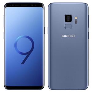 Remis à neuf d'origine Samsung Galaxy S9 G960F G960U 5,8 pouces Octa noyau 4 Go de RAM 64GB ROM 12MP débloqué 4G LTE Smart Phone DHL 1pcs