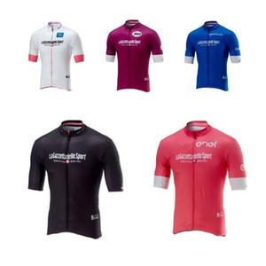 Tour de France 2018 Pro Team Italie Maillots De Vélo Vêtement De Vélo De Montagne Porter Des Vêtements Respirant Mens racing Shirt F0805