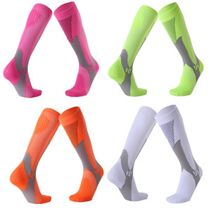 Men Women Compression Professional Sport Soccer Socks outdoor Running Cycling Basketball breathable deodorization Elastic Sports Football So
