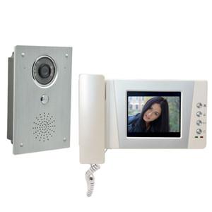 """4.3"""" Telephone Monitor Video Doorbell Intercom System Aluminium alloy Camera Video Door Phone interphone kit 2-Screen"""