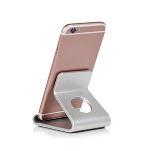 Portable Aluminum Alloy Desktop Mobile Phone Magnetic Phone Holder For iPhone X 7 8 For Samsung Galaxy S6 S7 Cellphone Holder