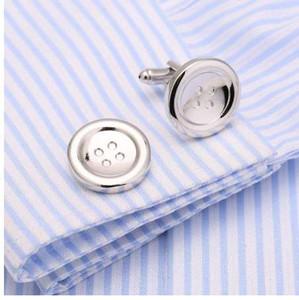 Новая кнопка запонки металлические запонки латунь французская рубашка запонки воротник шпильки 146