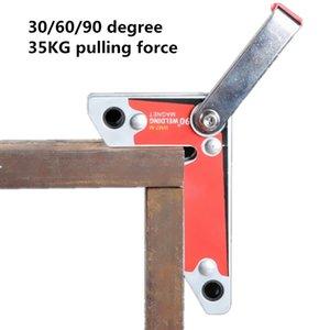 네오디뮴 자석 용접 죔쇠 NdFeB 영구 자석 손잡이를 가진 용접 자석 Industrial Metal Fixed 2pcs / pack