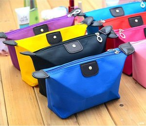 New Fashion Large capacity waterproof zipper storage bag cosmetic bag handbag multicolor optional Free shipping a691