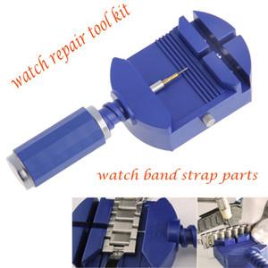 Lien de montre pour la trousse à outils 28mm de réparation de régleur de goupille de bracelet de sangle fendue de bande avec 5 épingles libres pour les hommes / femmes