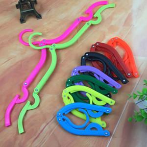 Многофункциональные вешалки Space Saver Travel Портативные складные вешалки, стойки для верхней одежды, вешалки, волшебные пластиковые противоскользящие стойки HH7-1103
