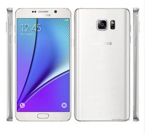 Разблокирована Samsung Galaxy Note 5 N920A N920T N920P N920V N920F Octa Core 4 ГБ / 32 ГБ 5,7 дюйма 2560 x 1440 Восстановленное сотовый телефон