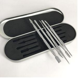 Elektronische Zigarette Wachs Daber Tool Kits ss Farbe Dab Tool Wachs Dry Ego Dry Herb Daber Tool Günstigstes