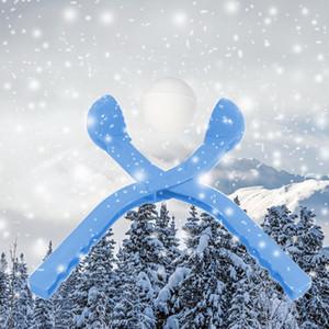 36 см Snow Ball Maker Зима Круглой Формы Snow Scoop Maker Клип Спорта На Открытом Воздухе Песчаная Глина Плесень Инструмент Детские Игрушки Случайный Цвет