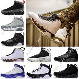 Alta qualità 9 IX 9S Scarpe da pallacanestro Mens 9s Statua in rame Antracite Baron Charcoal Johnny Kilroy 9 IX 9S Scarpe da ginnastica Scarpe sportive US 7-13