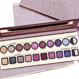 2018 popular MAKEUP Faced Eyeshadow Plaette 20 cores pro sombra de olho por volta de 1998 a cerca de 2018 paleta de sombras livre DHL