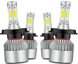 Car LED Headlights C6 Headlamps Auto Lighting Lossless Installation Bulb Super Bright Lamp H1 H3 H4 H7 H8 H9 H13