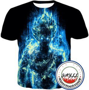 Camiseta 3D impresa Camiseta para hombre Camiseta Dragon Ball Camiseta Anime harajuku Comics Tops Camiseta Goku Ball Z Camiseta 3D para hombre