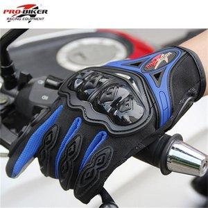 2020 Мотоцикл перчатки спорта на открытом воздухе Pro Байкер Мотоцикл перчатки Полный Finger Мото Мотоцикл Мотокросс Защитное снаряжение Guantes Спортивные перчатки