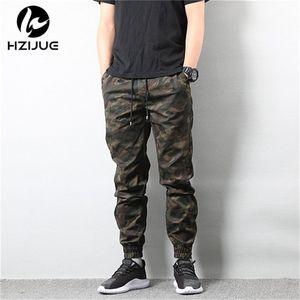 HZIJUE 2018 Mens Jogger Autumn Pencil Harem Pants Hip Hop Men Camouflage  Pants Loose Comfortable Trousers Camo Joggers