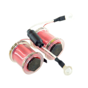 1PC 25MM 8WRAPS 24AWG COPPER WIRE LINER 8/32 25H.24.8.33UF50V-S-01 TATTOO MAIL MACHINE PART AIR