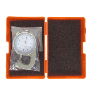 0-10mm 0.1mm Dial Thickness Gauge Hand-held Pointer Micrometer Micron Metal Meter Tester Thickness Width Measurement Tools CHY02