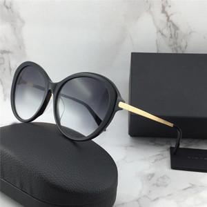 Nouveau créateur de mode femmes Victoria Beckham lunettes de soleil 112 design rond spécial populaire style généreux uv400 protection lunettes qualité supérieure