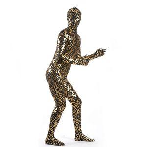 (MZS032) Multicolor Shiny Metallic Tights Classic Halloween Costumes Unisex Fetish Zentai Suits