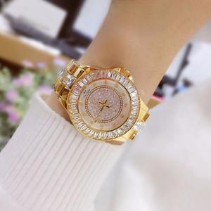Montres originales de marque BS de montre de nouvelle femme coréenne chaud-vente de montres Diamond Drill Quartz Montre FA0629