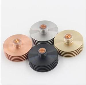 Convertitore analogico con adattatore alettato in metallo RDA RBA dissipatore meccanico per atomizzatori ricostruibili 510 fondo del filetto 22mm