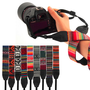 Retro Vintage Trendy Stil Kaliteli Kamera Omuz Boyun Askısı Nikon Tek Omuz Sapanlar Askı Kemerler Için ücretsiz kargo