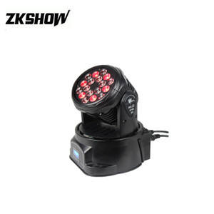 80% de desconto Cabezas Moviles 18 * 3W RGB Mini Cree LED Wash feixe Moving Head 230V DMX512 Bar KTV DJ Disco Club Party Wedding Stage Lighting