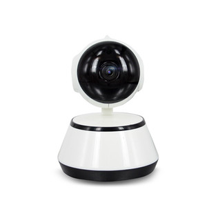 Pan Tilt Wireless IP Camera WIFI 720P CCTV Home Security Cam Micro SD Slot Supporto Microfono P2P APP gratuita ABS plastica spedizione gratuita