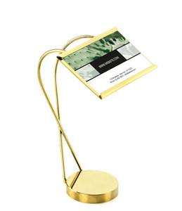 Hotel ristorante festa cibo nome prezzo elenco carta etichetta etichetta cornice supporto oro oro etichetta titolare desktop da tavolo