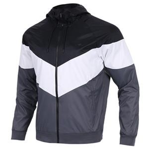 2018 YENI stil Erkek Kadın Spor Rüzgarlık Ceketler 3 Renkler Patchwork Sözleşme Su Geçirmez Ceket Fermuarlar Up Mont ücretsiz kargo 397